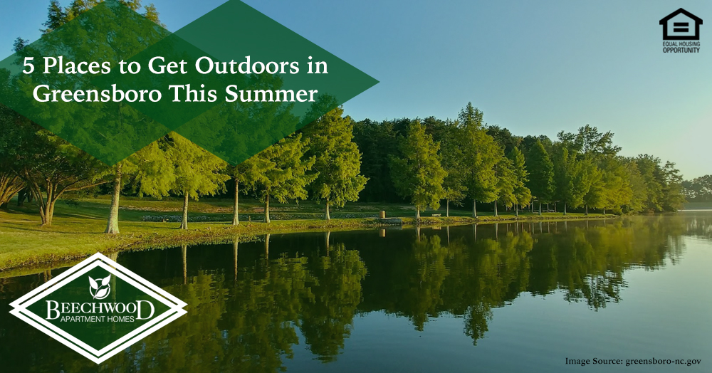 With summer upon us, it's the perfect time to head outside. In fact, here are some amazing places to get outdoors in Greensboro