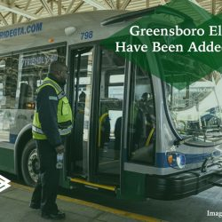 Greensboro electric buses