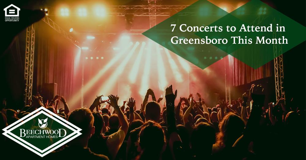 Concerts to Attend in Greensboro