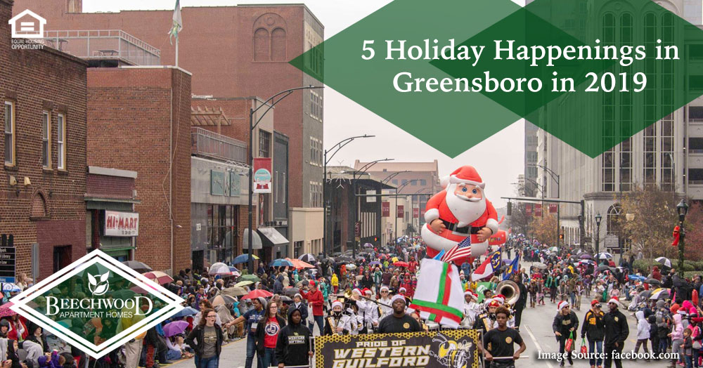 Holiday Happenings in Greensboro in 2019