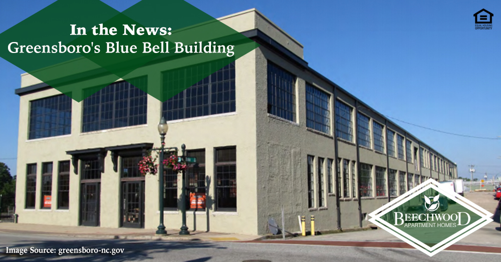 In the News: Greensboro's Blue Bell Building