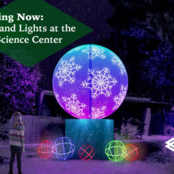 Winter Wonderland Lights at the Greensboro Science Center