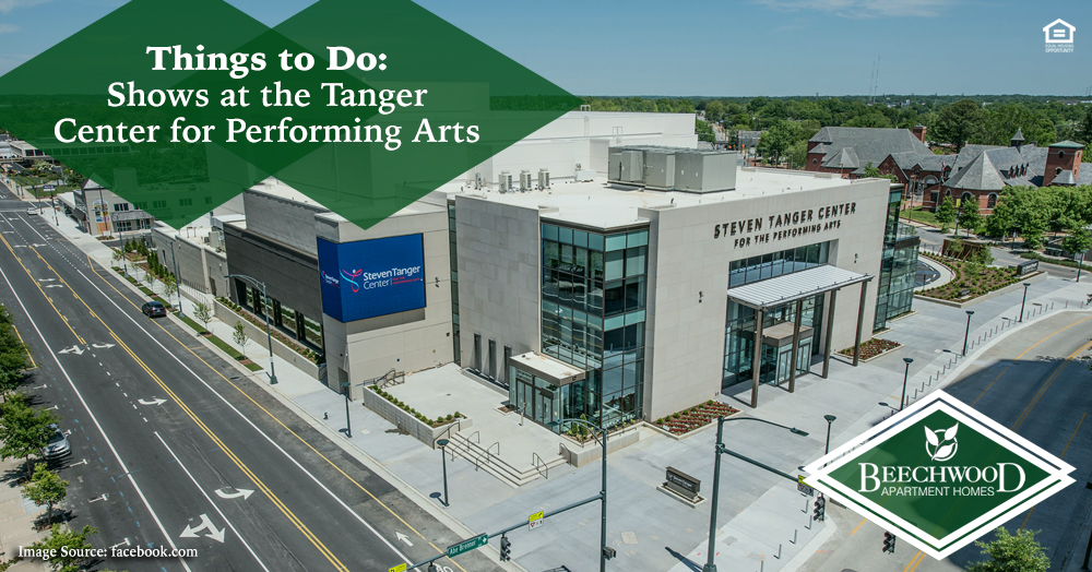 shows at the Tanger Center for Performing Arts